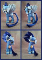 My Little Pony custom FiM - fashion style Soarin by hannaliten
