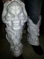 Darksiders 2 Death Necromancer Armor Progress by ZombieGrimm