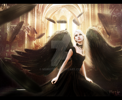 Angel by msriotte