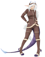 AE - Winter outfit Gawain by huina