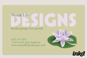 Tranquil Landscaping Business by inkddesign