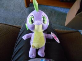 My little pony Spike build a bear plush! by SlinkySlinks