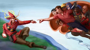 The Creation of Muselk by medli20
