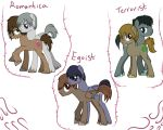 Junjou Romantica Ponies by Potates-Chan