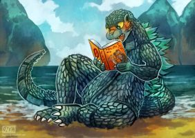 What are you reading godzilla? by fcaiser