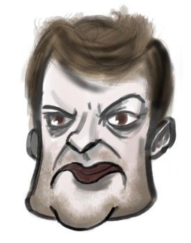 Charlie Brooker 2 by lorcan13
