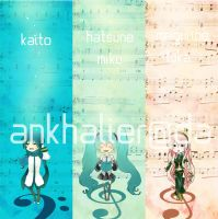 Vocaloid - Bookmarks by Ankhalier