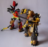 Steelax Master of Weapons (my Self-MOC) 9 by SteelJack7707