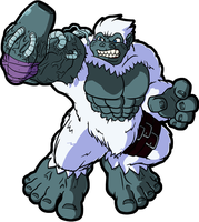Gorillamon by CatchShiro