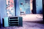 A chair with drawers. by cmulcahy