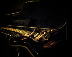 A guitars tomb by dennissloan21