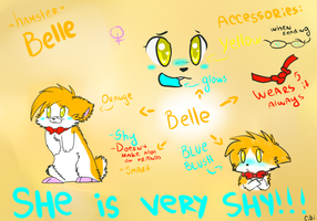 Belle's ref~ by Cibibot