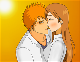 Bleach: Ichigo x Orihime SP100 by madhouse1991
