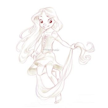 Baby Punzel! by mimera