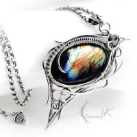 MIGNHAR - silver and labradorite. by LUNARIEEN