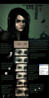 simple eye digital painting tutorial. by Anermik