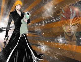 Bleach-Ichigo wallpaper by shmatity