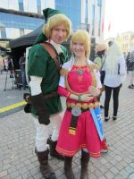 Zelda and Link by Funny-horsey