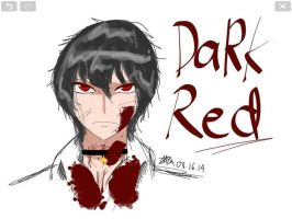 Angry DaRk Red. Creepypasta OC by ShootingPiggeh