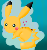 Here, Have a pikachu. by Kat-The-Piplup