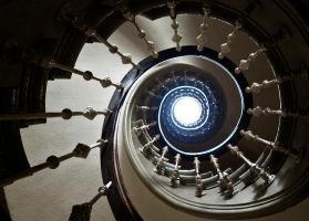 Spiral Stairs by pocketcanoe