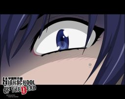 Saeko's Fear by DeathScarrel