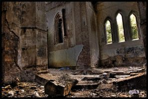 Abandoned Church 5 by AbsentAsI