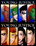 Young Justice card paster by riyancyy777