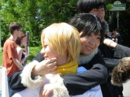Izaya and Kida - AN 2010 by Ryukai-MJ