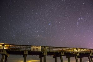 Stars at the pier 1 by Citpars