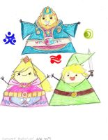 Triforce Of Legends by Suemoons
