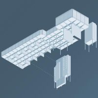 Isometric Council Chambers by heldinaline