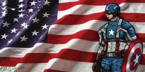 Captain America by Applebybrothers