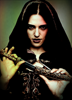 Merlin S4 Wallpaper Morgana FM by TwilightxGirl