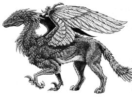Veloci Griffin by Namingway