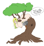 Tree Girl TF Censored by BoobsTitsandAss
