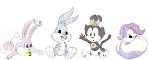 Baby Tiny Toons by OnesailorSun