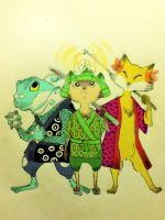 kalos starters japanese style by Windwolf667