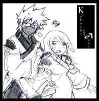 Kakashi and Anko : please careful... by KickBass77