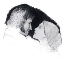 Jane Eyre and Mr Rochester WIP by Feantauriel