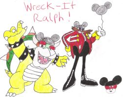 Bowser and Eggman Wreck it Ralph! by KingKoopz123