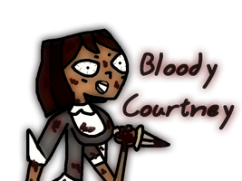 Bloody Courtney by GirlCrash97