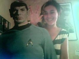 CHILLING WITH SPOCK by JackHarknessHarter
