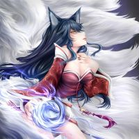 Ahri by Yuriwhale