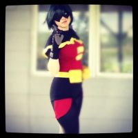 FemRobin Young Justice Cosplay by Pathlon