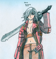 RQ: Dante (female) - Devil May Cry by BlackLeatheredOokami