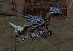 CyberRaptors of The Two Worlds by nargus
