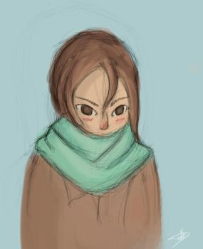 Quick Girl sketch 2 by Onnessa