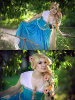 Blue Rapunzel concept 5 by Usagi-Tsukino-krv