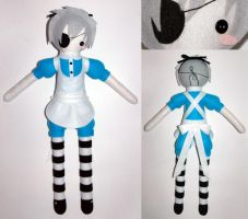 Ciel in Wonderland Plush by AlchemyOtaku17